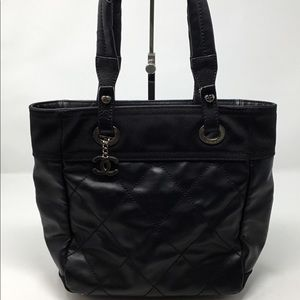 85492101dc033d CHANEL · CHANEL PARIS-BIARRITZ SMALL TOTE